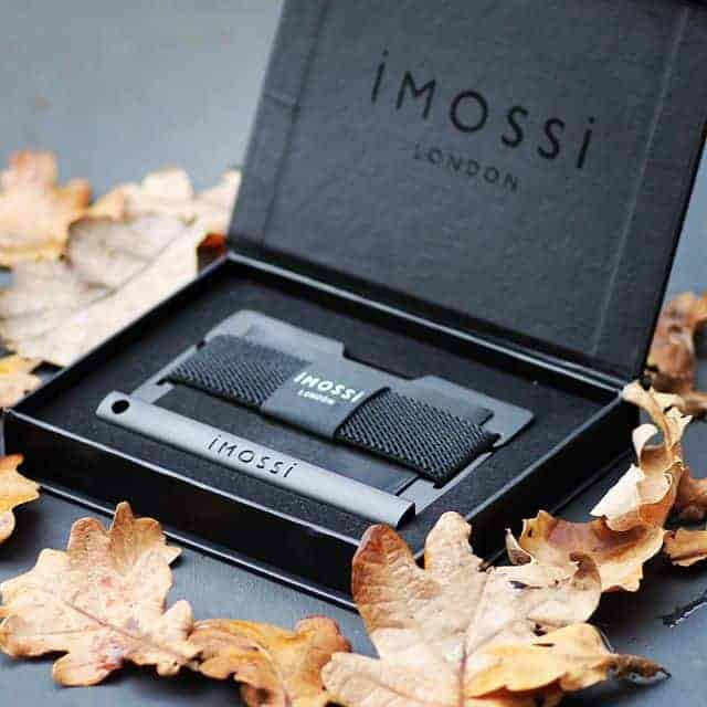 Protect Yourself With The Nifty Imossi Wallet