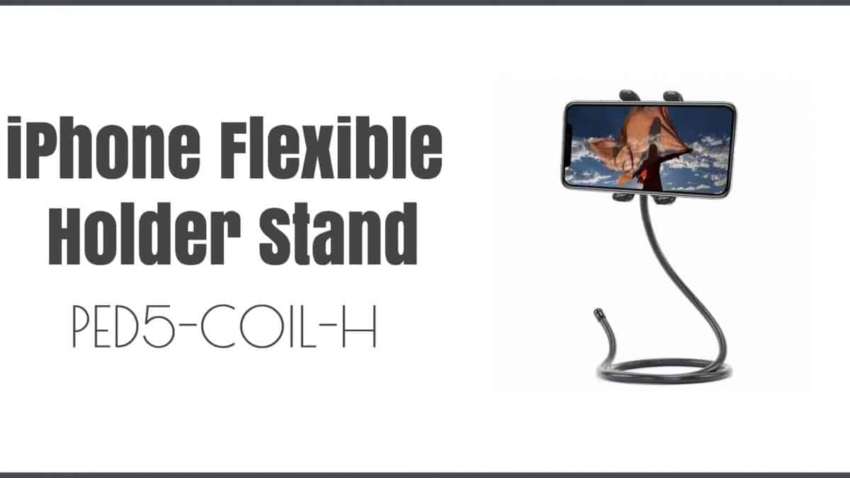 Convenience at its Best: iPhone Flexible Holder Stand