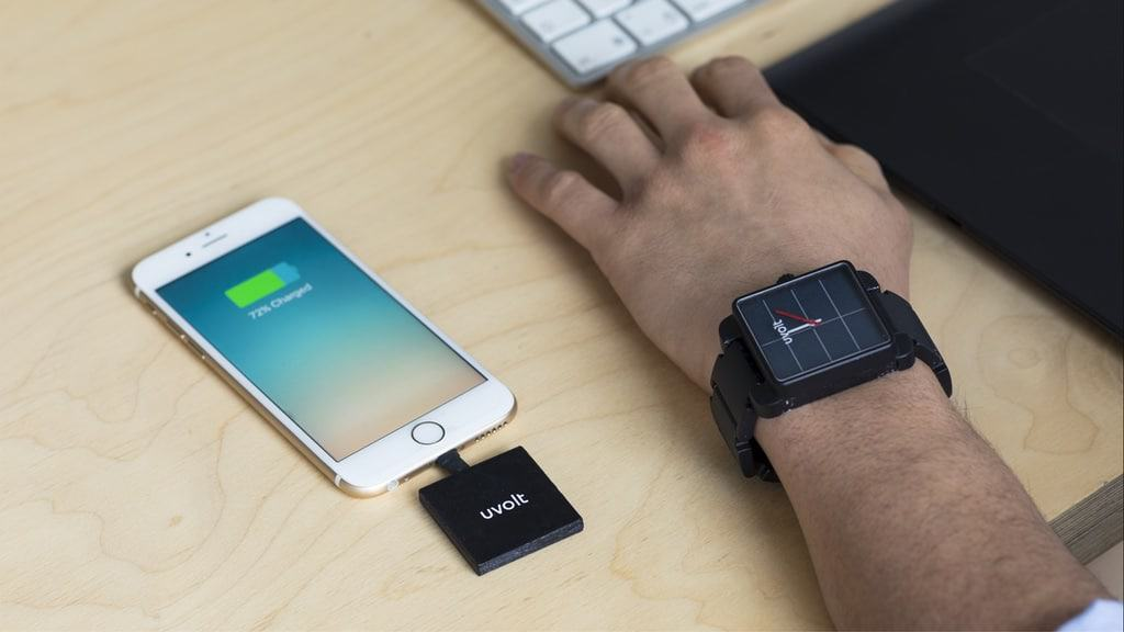 Uvolt Watch Review: The solar analog watch that charges your phone