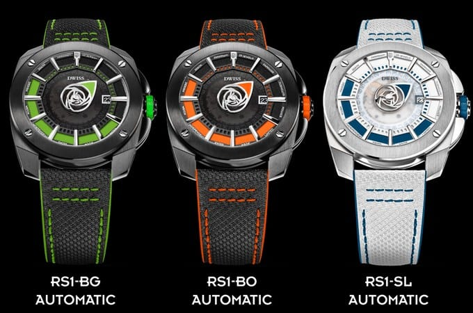 DWISS R1 Watch Collections are Swiss Stunners