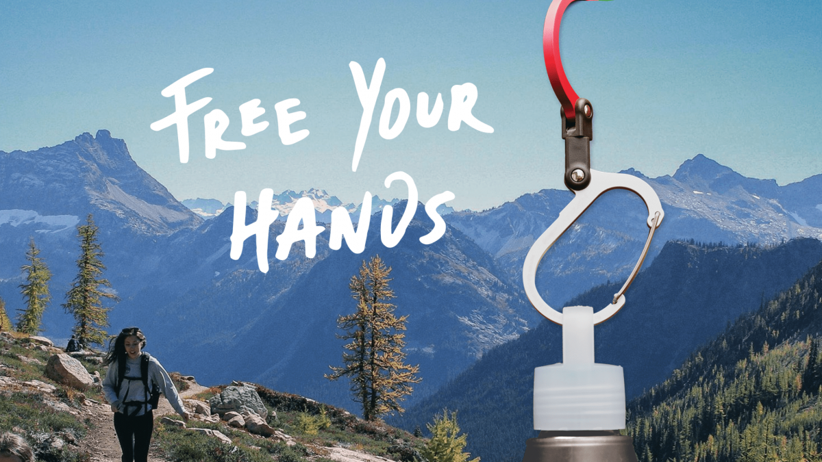 Hang Your Stuff and Free Your Hands with The Awesome  Hero Clip Carabiner