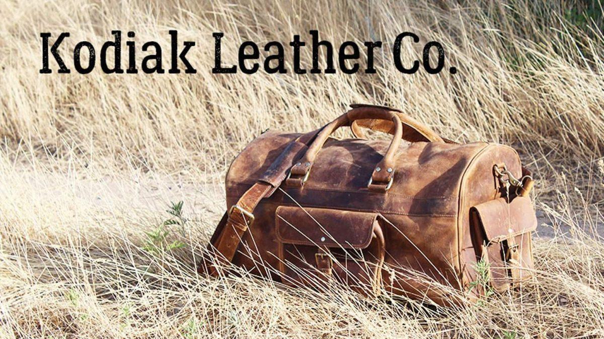 Kodiak Leather – Classic Weekender Duffel