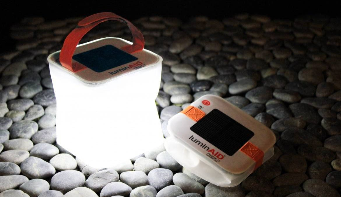 LuminAID – Solar Inflatable Lantern and Phone Charger (2-in-1)