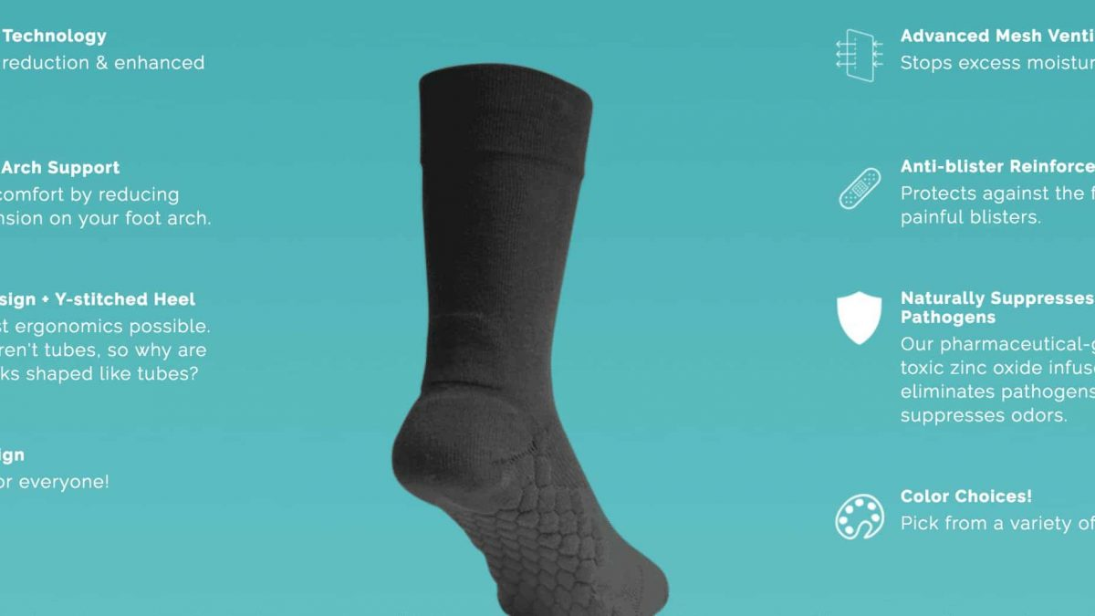 Advanced Neverquit Socks
