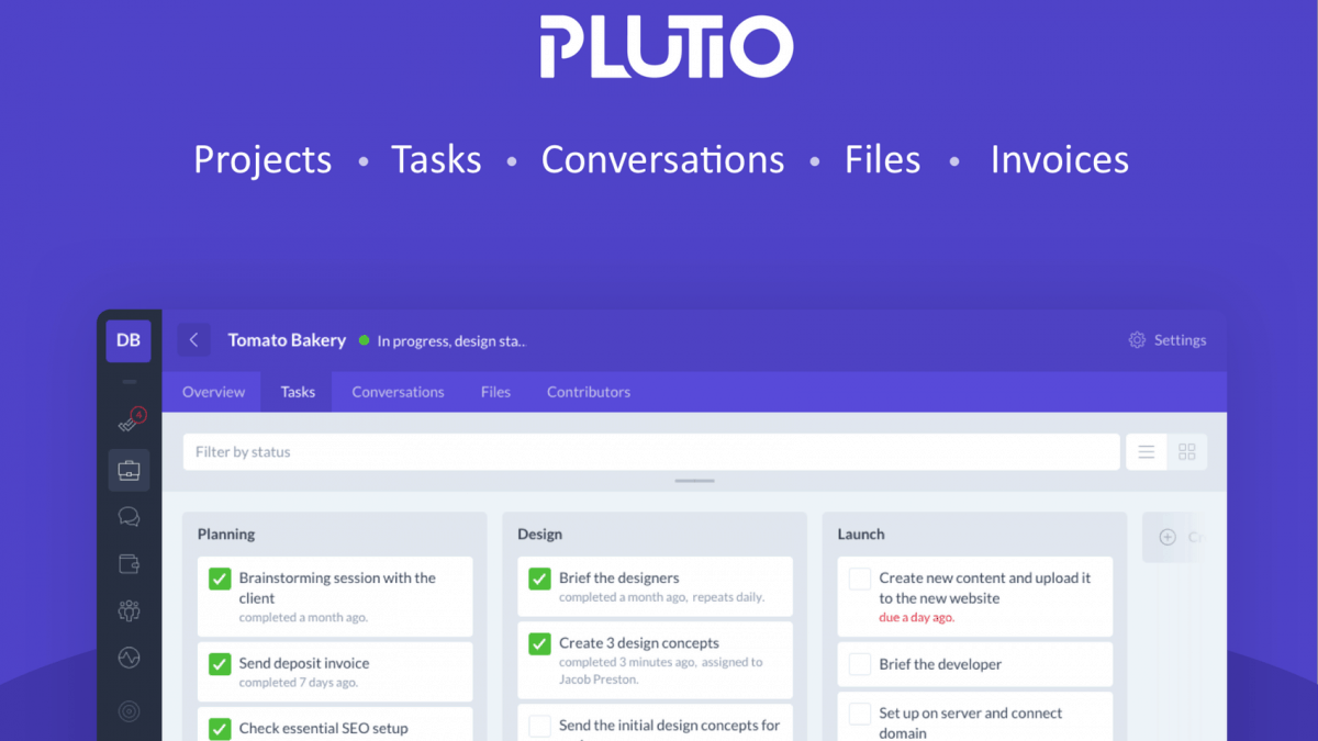 Plutio – The Agile Business Management Platform
