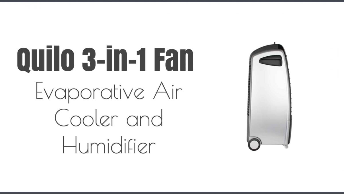 Quilo Fan – You're Only as Cool as the Air Around You