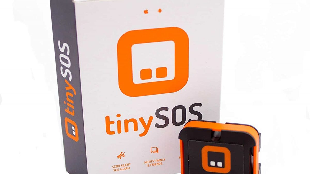 tinySOS – Feel Secure Anywhere With This Discreet Device