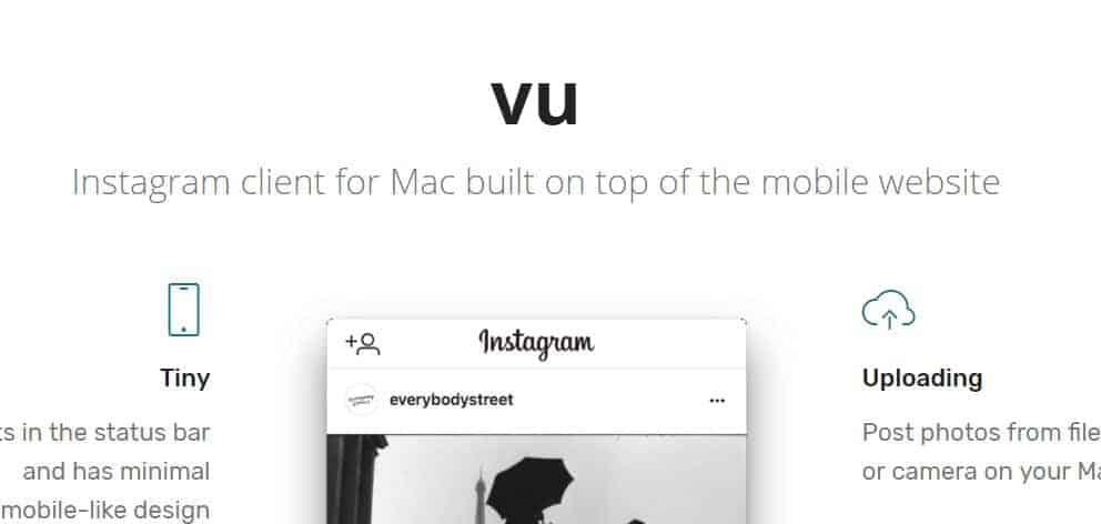 Vu Web App