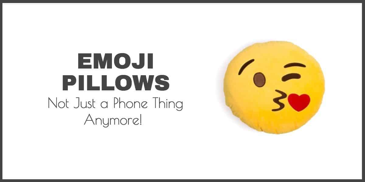 Emoji Pillows – from your phone to your room