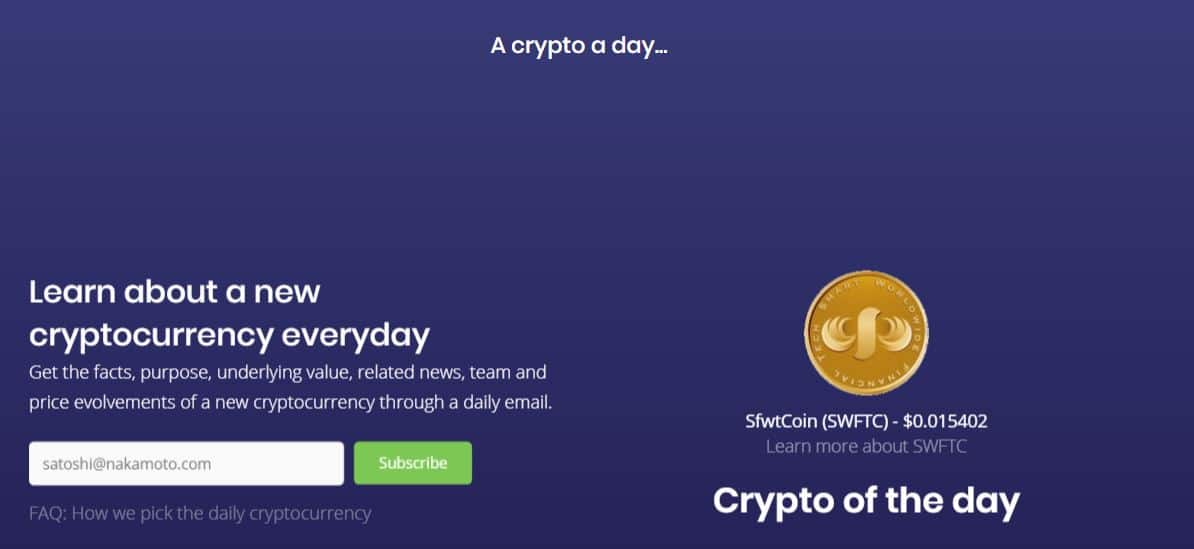 decoding crypto currencies – a Crypto a day