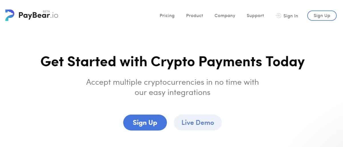 accept crypto payments and increase your revenue today with paybear