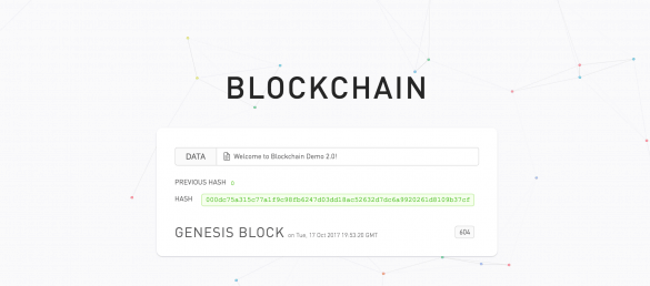 blockchain demo
