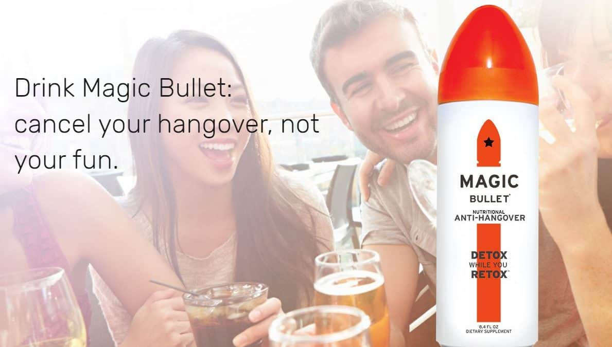 A Magic Bullet for Hangovers