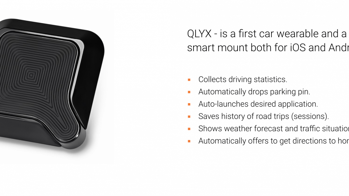QLYX Phone Mount Makes Your Car Smart Like Your Phone
