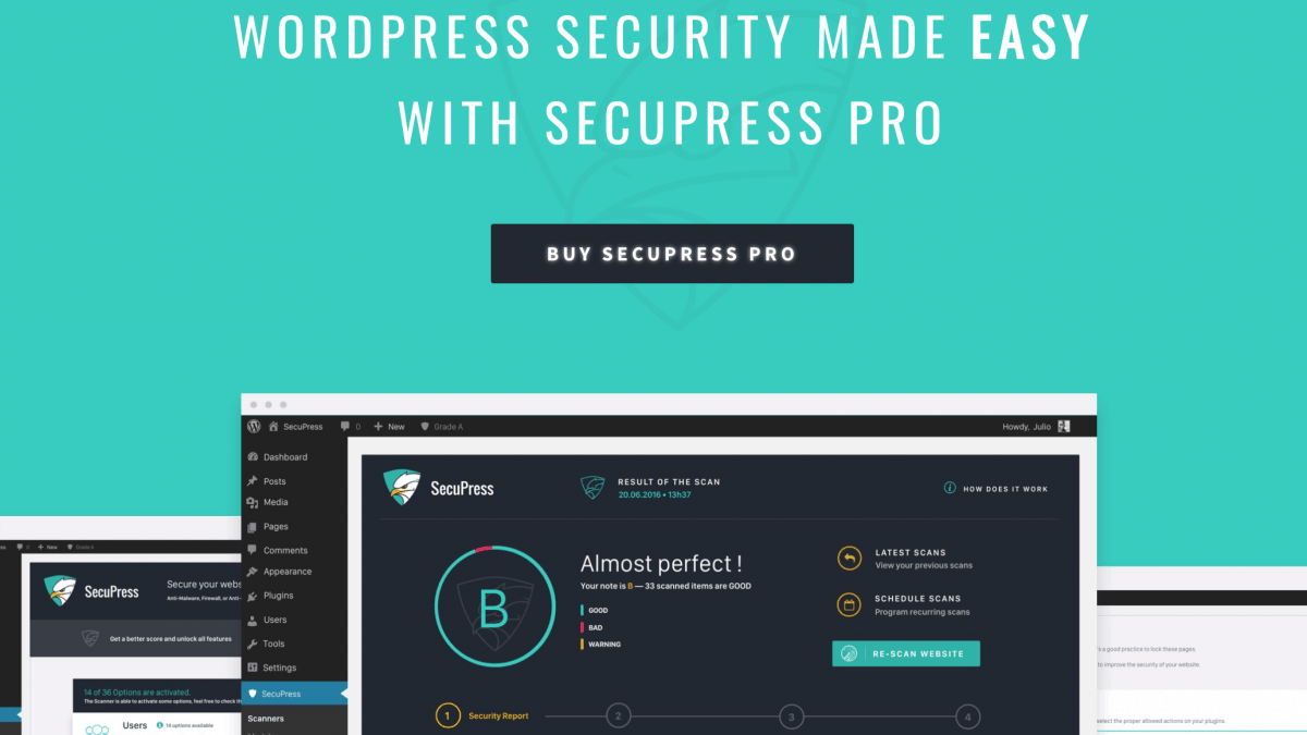 SecuPress Builds Confidence